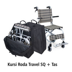 Kursi Roda Traveling SQ + Bag