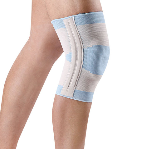 Knee Support with Silicone Patella Cushion