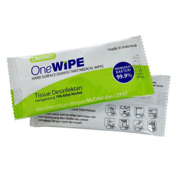 One Wipe Tissue Desinfektan OneMed pcs