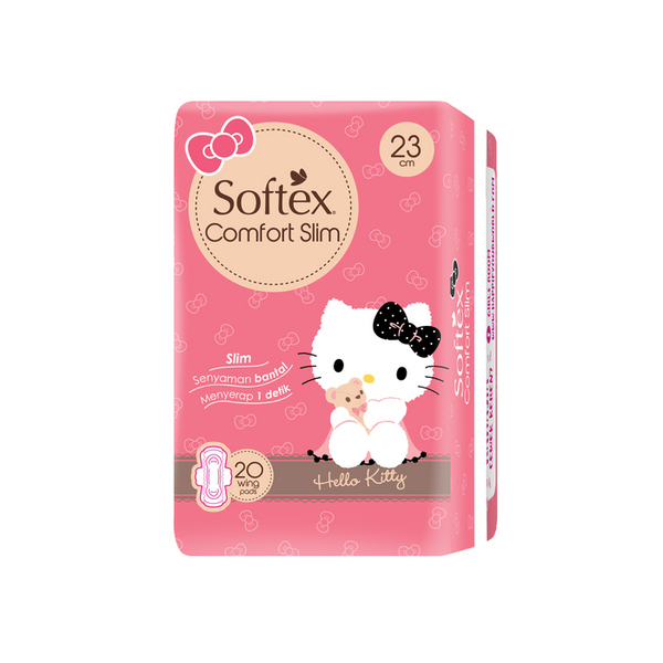 Softex Comfort Slim Wing isi 20 pads