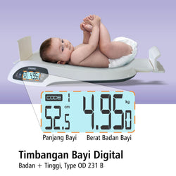 Timbangan Bayi Digital OD231-B OneMed
