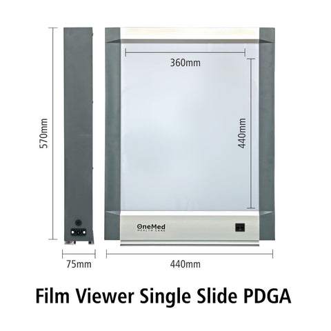 Film Viewer Single Slide Onemed X-Ray