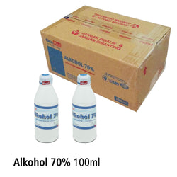 Alkohol 70% 100ml OneMed BOX isi 24