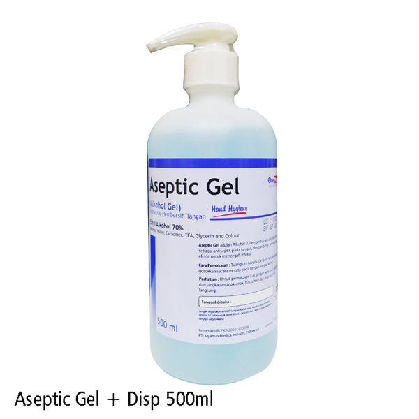 Aseptic Gel 500ml Dispenser OneMed