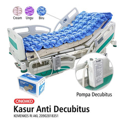 Kasur Anti Decubitus Blue Biru OneMed