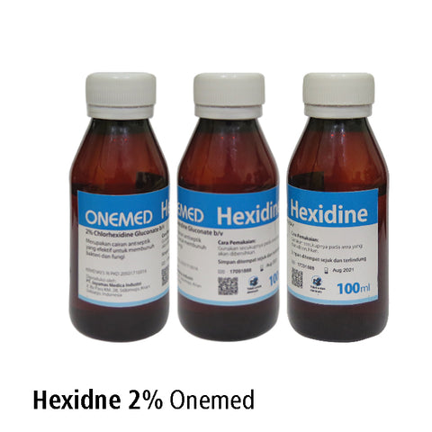 Cairan Dental Hexidine 2% 100ml Onemed Dental