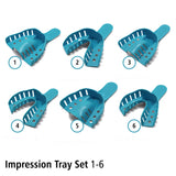 Dental Impression Tray Set 1-6