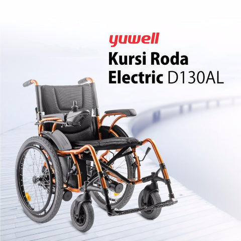 Kursi Roda Electric Big Wheel D130AL Yuwell