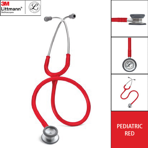 Stetoskop Littmann Pediatric / Anak Red