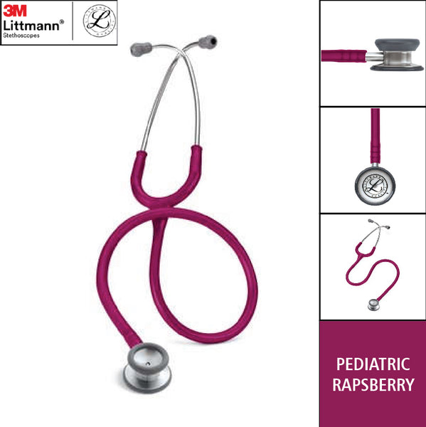 Stetoskop Littmann Pediatric Raspberry 2122