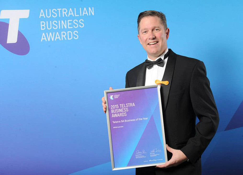 HEGS Wins The 2015 Telstra Business Award
