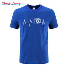 Heartbeat Camera Graphic T-Shirt