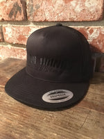 Trucker snap back  hat (THRASHER) White logo or black