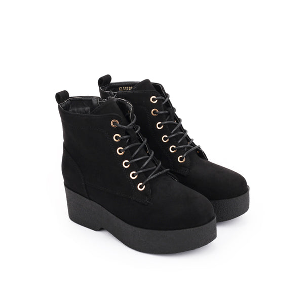 CLARISSA lace-up boots