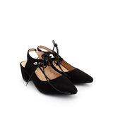 CRAIG block heel pumps