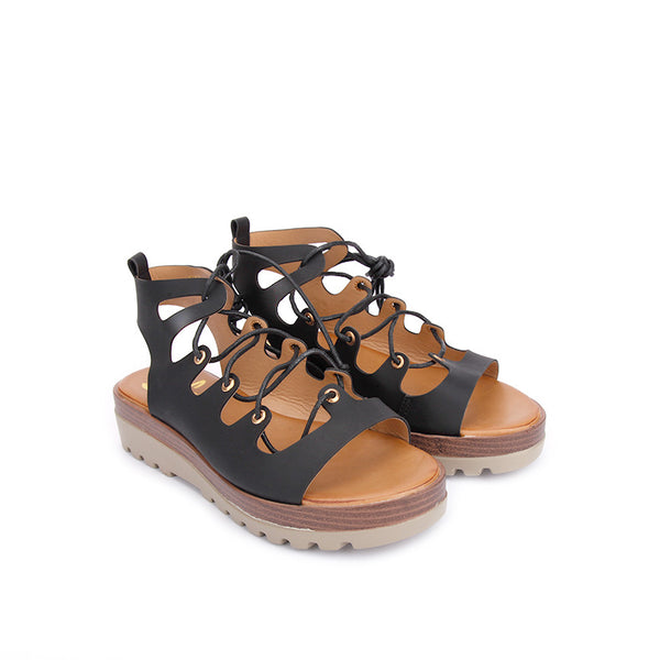 GINA lace-up sandals