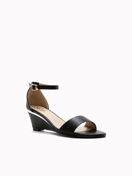 Jeanne Wedge Sandals