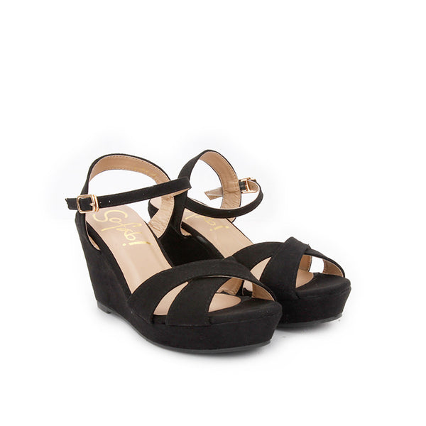 KATY casual wedges