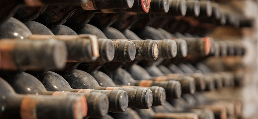 What happens to wine when it ages?