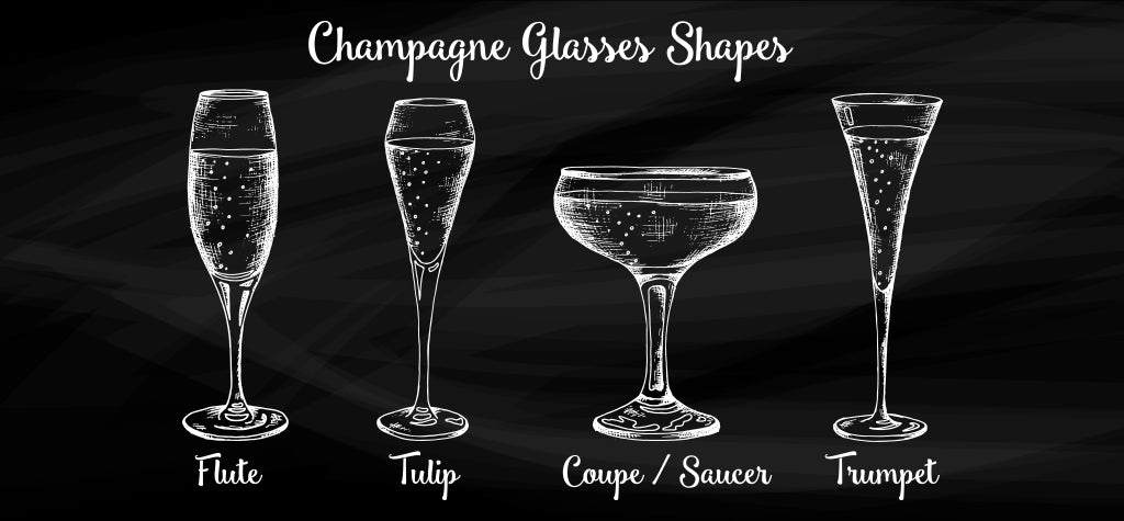 A BRIEF HISTORY OF THE CHAMPAGNE GLASS