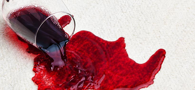 How to remove wine stains: A guide