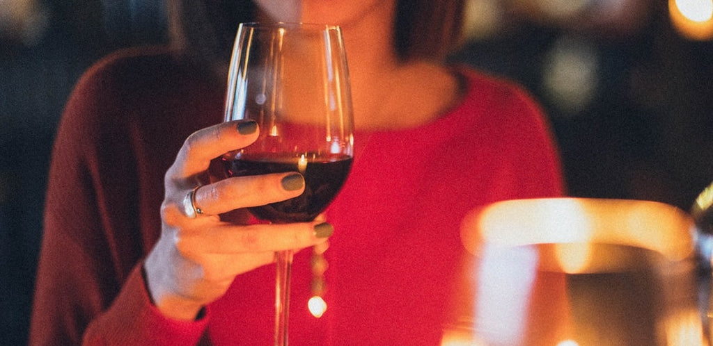 SEEING RED WITH THE HEALTHIEST TYPE OF WINE