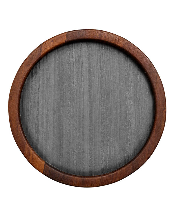 Buckley Black 25cm Round Serving Board