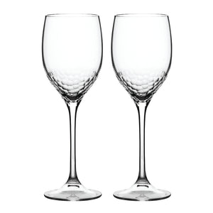 Vera Wang Sequin Crystal Wine Glass Pair
