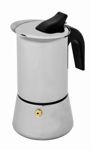 Inox Espresso Coffee Maker 6 Cup