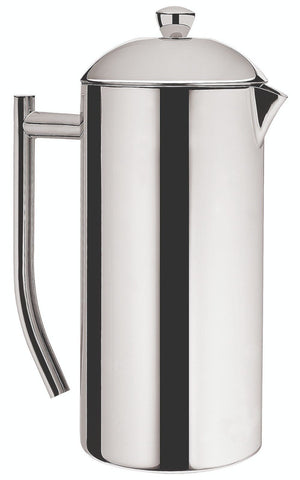 Sleek Twin Wall Coffee Plunger, 8 Cup
