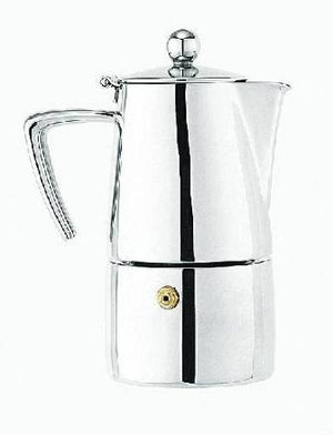 Art Deco Espresso Maker, 6 Cup