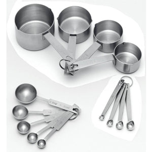 Bakers Measuring Set - Stainless Steel