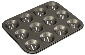 Perfect Crust 12 Cup Shallow Baking Pan