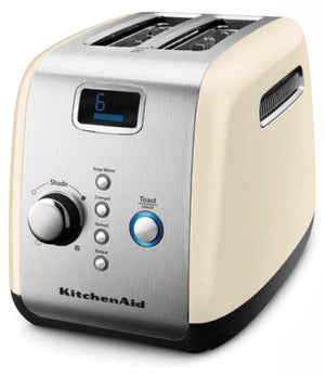 2 Slot Toaster in Almond Cream