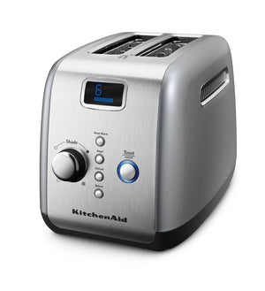 2 Slot Toaster in Contour Silver