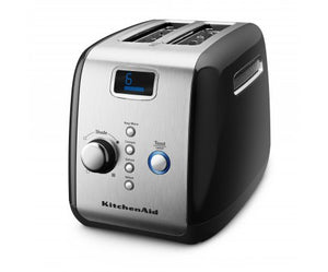 2 Slot Toaster in Onyx Black