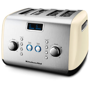 4 Slot Toaster in Almond Cream