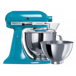 Artisan Stand Mixer KSM160, Crystal Blue -Includes extra FREE bowl