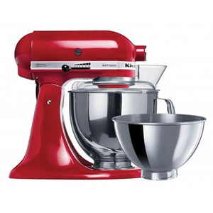 Artisan Stand Mixer KSM160, Empire Red -Includes extra FREE bowl