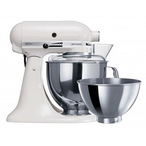 Artisan Stand Mixer KSM160, White -Includes extra FREE bowl