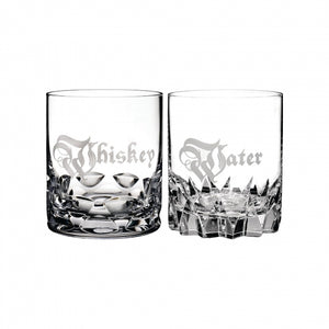 Short Stories Whisky & Water DOF Tumbler Pair