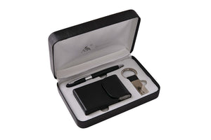 Gift Set - Pen, Business Card Wallet and Key Chain