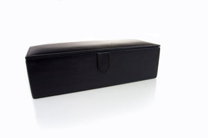 Big Leather Watch Box Black