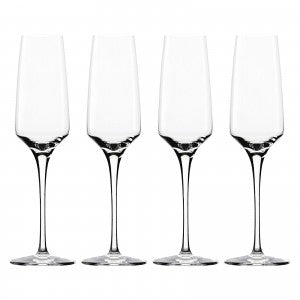 Sommelier Champagne Flutes, Box of 4
