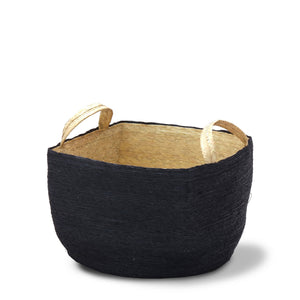 Cruz Square Noir Basket