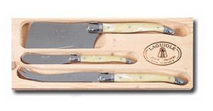 LH 3pc Cheese Set with Cleaver