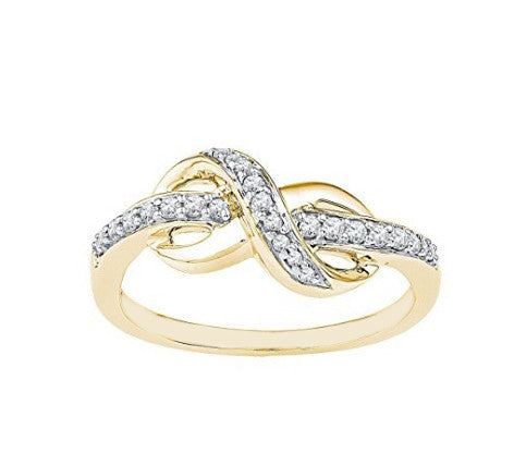 0.30CT. ROUND SHAPE 18KT SOLID GOLD NATURAL WHITE DIAMOND RING WITH FREE EGL CERTIFICATE