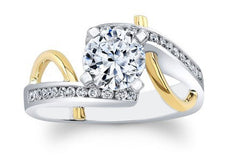 1.70 CARATS 14KT SOLID GOLD GOOD QUALITY ROUND SHAPE SOLITAIRE ENGAGEMENT RING