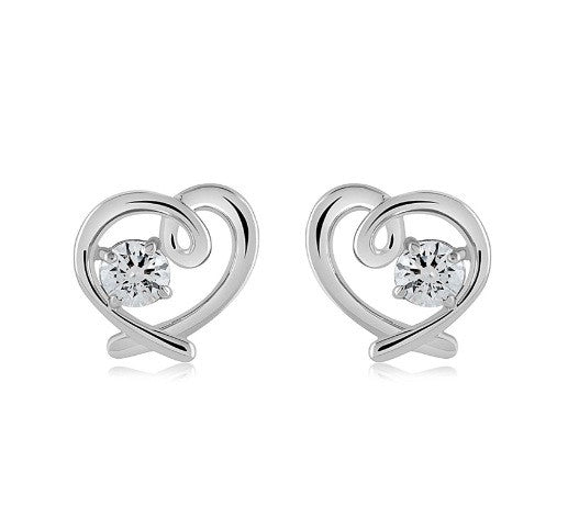 18KT SOLID GOLD GOOD QUALITY ROUND SHAPE 1.80 CARATS SOLITAIRE WOMEN'S STUDS