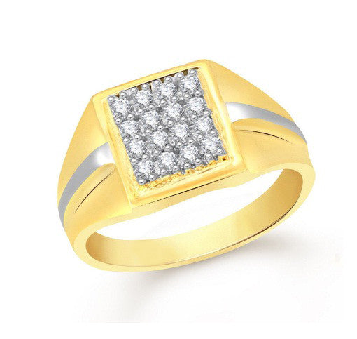 100% 18KT SOLID GOLD 0.40CT. ROUND SHAPE NATURAL WHITE DIAMOND IGI CERTIFICATE MEN'S RING